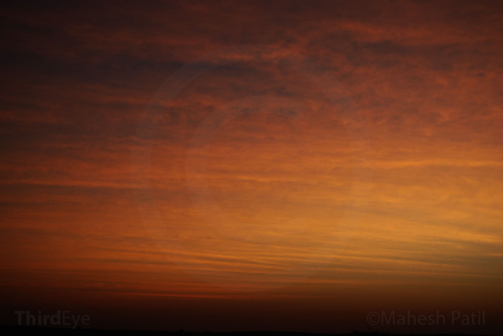 Rajasthan 09: Sunrise on the Thar Desert