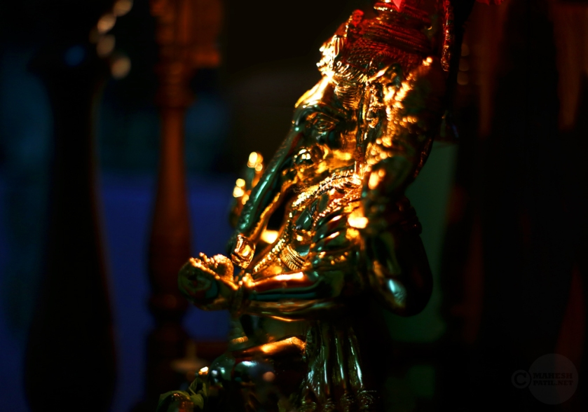 Glittering God, Mahesh Patil, Ganpati