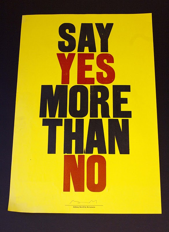 Say Yes More Than No!